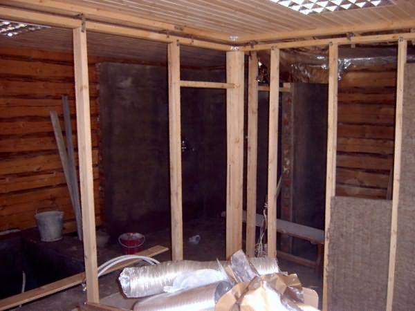Устройство перегородки в деревянном доме своими руками 90