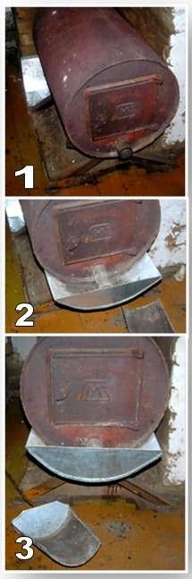 Сделать печь своими руками из трубы 707