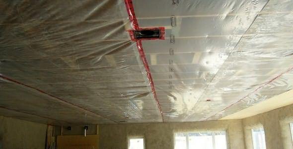 На потолке конденсат что делать