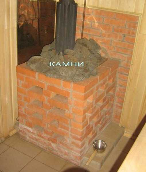 Бани как сделать баню из кирпича теплой