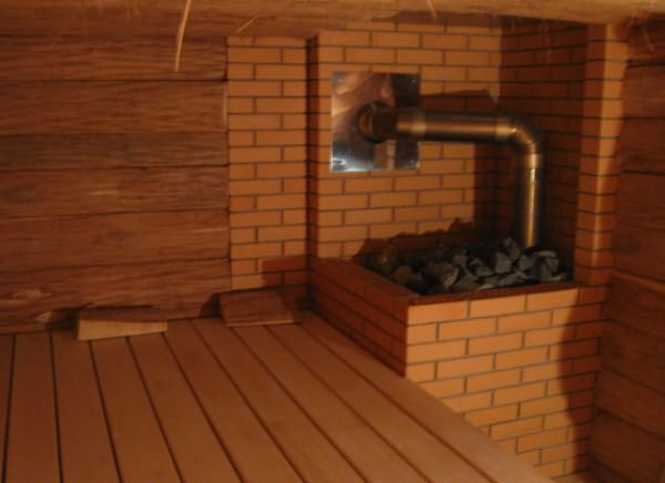 Чугунная печь для бани с закрытой каменкой